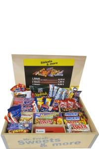 Snackbox <br /> Wir stellen die Box <br /> Sie haben die Auswahl